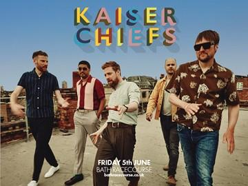 Kaiser Chiefs will be coming to Bath this Summer! Enjoy a days racing and then amazing live music at Bath Racecourse as part