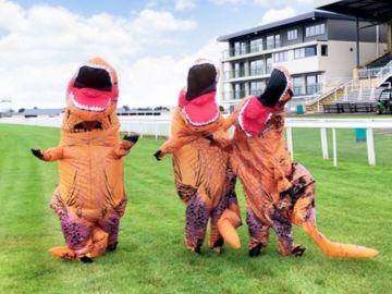 T-Rex's to race at Bath Racecourse's Dino Family Raceday
