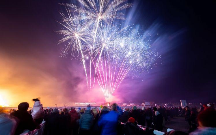Stunning fireworks at Bath Races Fireworks display and bonfire night