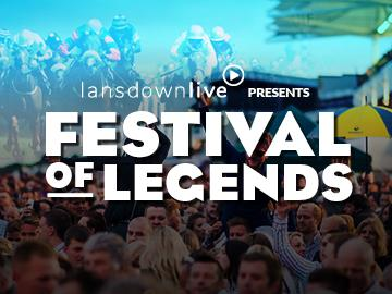 Promotional banner for the Festival of Legends on Friday 2 August