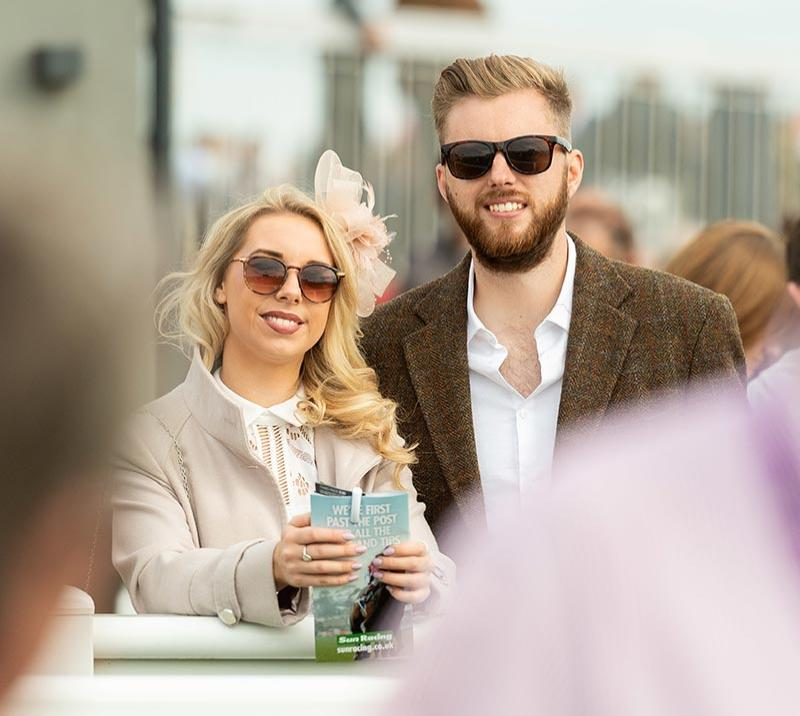 people at bath racecourse