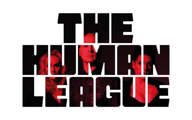 Promotional banner for the Human League live after racing.